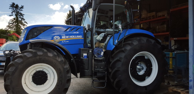 Nouveau NEW HOLLAND T7.245 – Optimisation Tracteur