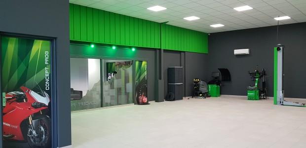 Nouveau centre ouvert
