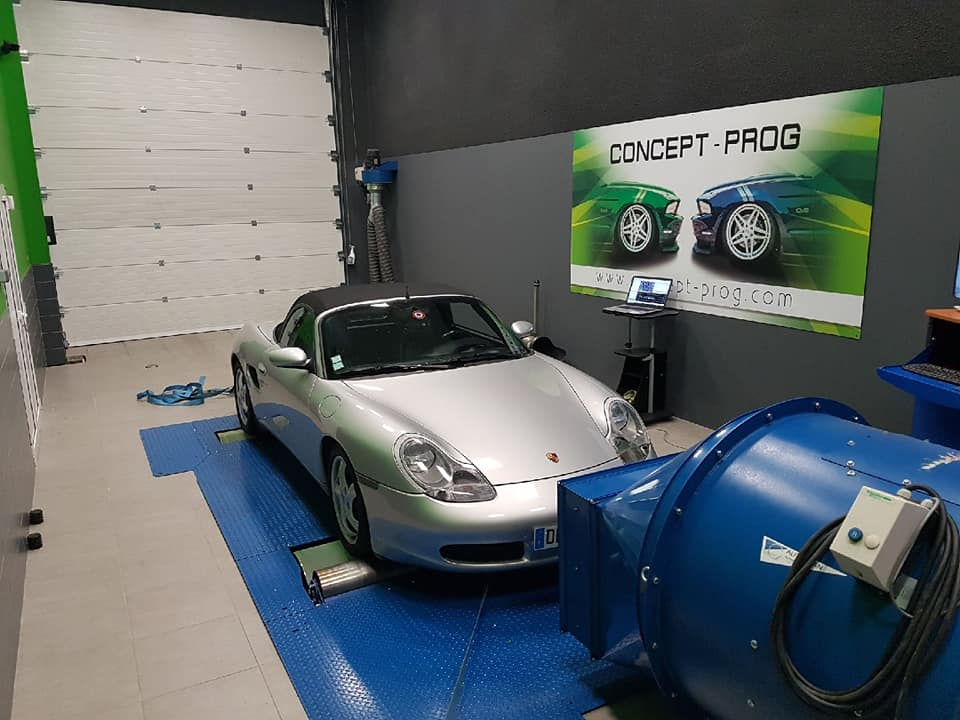Concept prog - reprogrammation bioéthanol porche