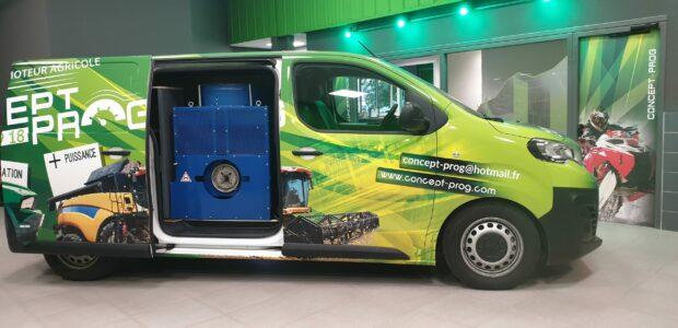 Nouveau véhicule équipé de banc Agricole
